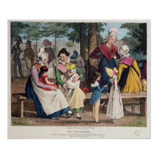 The Nannies, 1820 Poster
