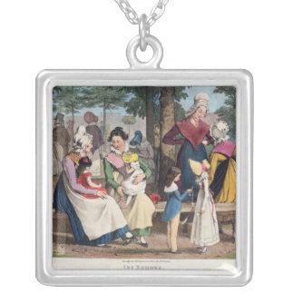 The Nannies, 1820 Silver Plated Necklace