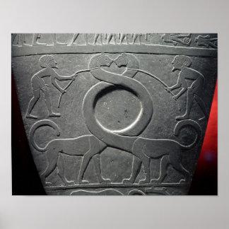 The Narmer Palette Poster