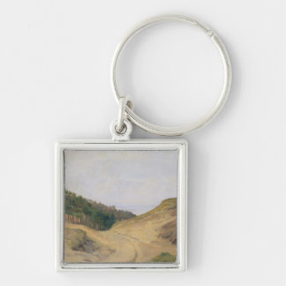 The Narrow Pass at Blankenese, 1840 Keychain