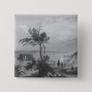 The Narrows from Fort Hamilton Pinback Button