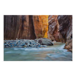 The Narrows Of The Virgin River In Autumn 2 Poster