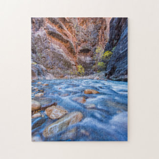 The Narrows Of The Virgin River In Autumn 3 Jigsaw Puzzle