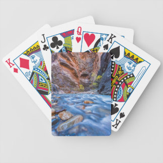 The Narrows Of The Virgin River In Autumn 3 Bicycle Card Deck