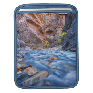 The Narrows Of The Virgin River In Autumn 3 Sleeve For iPads