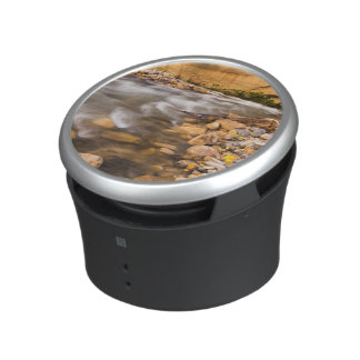 The Narrows Of The Virgin River In Autumn 4 Bluetooth Speaker