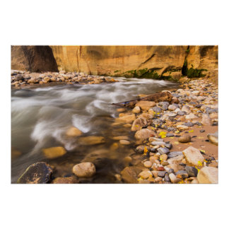 The Narrows Of The Virgin River In Autumn 4 Print