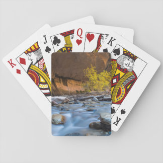 The Narrows Of The Virgin River In Autumn Deck Of Cards