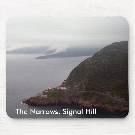 The Narrows, Signal Hill Mousepad