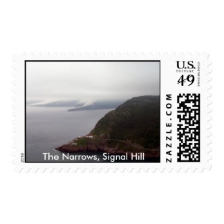 The Narrows, Signal Hill Stamp