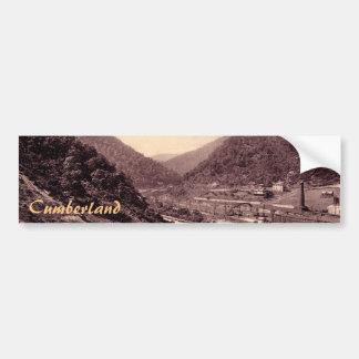 The Narrows Vintage Cumberland Bumper Sticker Car Bumper Sticker