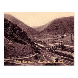 The Narrows Vintage Cumberland Postcard