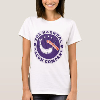 the narwhal whale bacon company T-Shirt