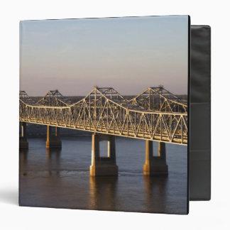 The Natchez-Vidalia Bridges spanning the Vinyl Binders