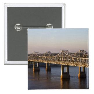 The Natchez-Vidalia Bridges spanning the Pins