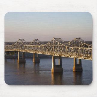 The Natchez-Vidalia Bridges spanning the Mousepads