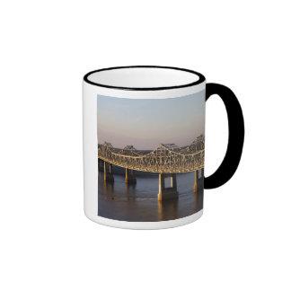 The Natchez-Vidalia Bridges spanning the Mugs
