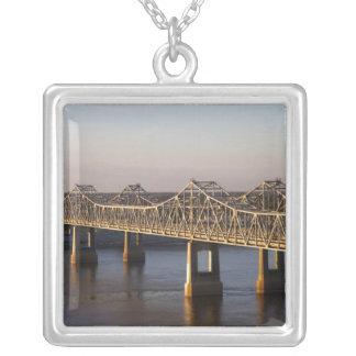 The Natchez-Vidalia Bridges spanning the Custom Jewelry
