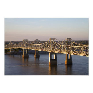 The Natchez-Vidalia Bridges spanning the Photograph