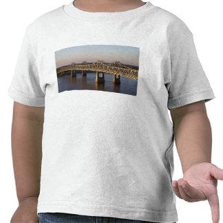 The Natchez-Vidalia Bridges spanning the Tshirt