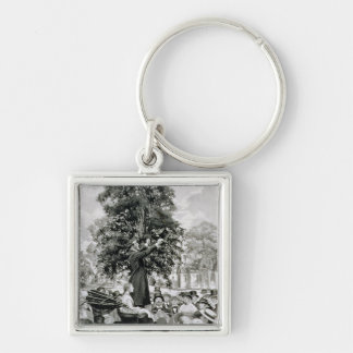 The Nation is at War and Must Have Men Keychain