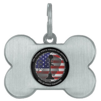 The Nation Which Forgets Its Defenders Pet Name Tags