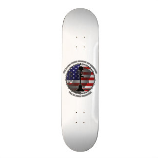 The Nation Which Forgets Its Defenders Skateboard Deck