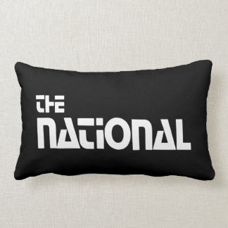 The National - 1980 promo graphic - White Lumbar Pillow