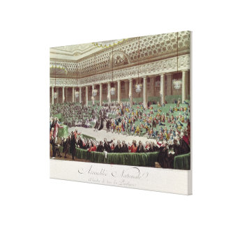 The National Assembly Renounces all Privileges Canvas Print