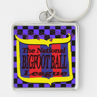 The National BIGFOOT BALL League Star Shield Keychain