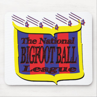 The National BIGFOOT BALL League Star Shield Mouse Pad