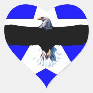 The National bird Heart Sticker