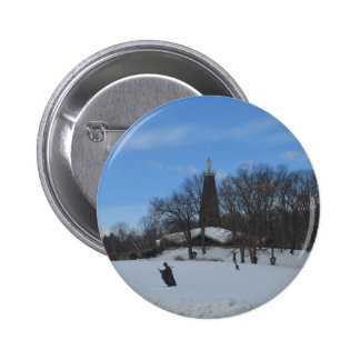The National Blue Army Shrine 2 Inch Round Button