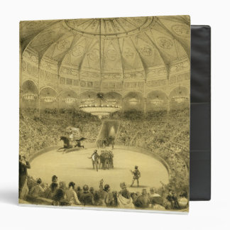 The National Circus, published by Auguste Bry (lit 3 Ring Binder
