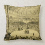 The National Circus, published by Auguste Bry (lit Throw Pillows