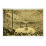 The National Circus, published by Auguste Bry (lit Postcard