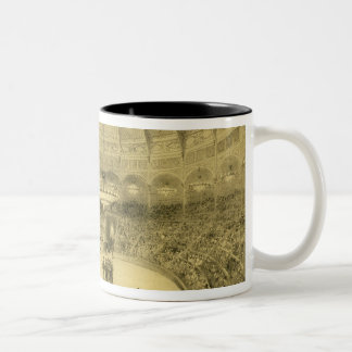 The National Circus, published by Auguste Bry (lit Two-Tone Coffee Mug