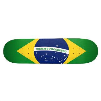 The national flag Federative Republic of Brazil Skateboard