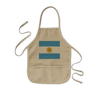 The national flag of Argentina Kids' Apron