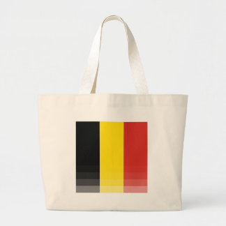 The National Flag of Belgium Large Tote Bag