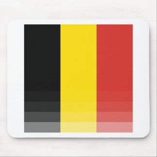 The National Flag of Belgium Mouse Pad
