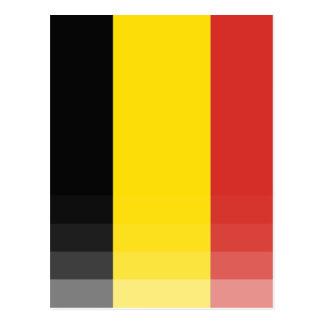 The National Flag of Belgium Postcard