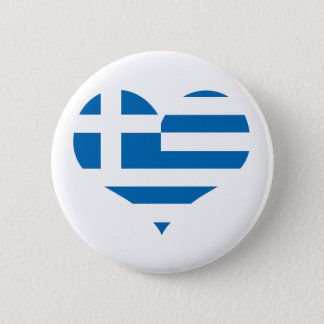 The National flag of Greece Button