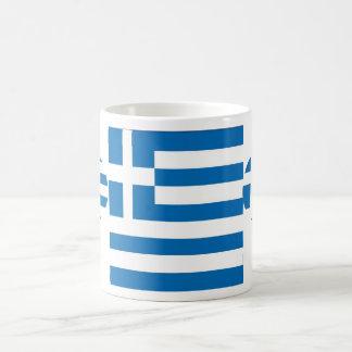 The National flag of Greece Coffee Mug
