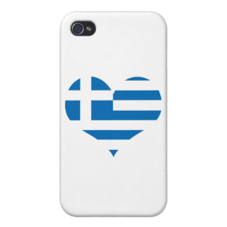 The National flag of Greece iPhone 4/4S Case