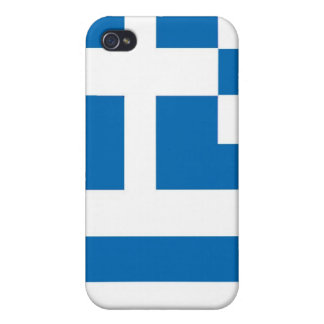 The National flag of Greece iPhone 4 Cover