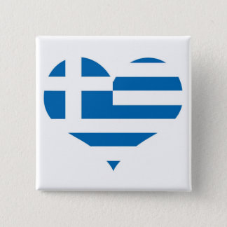 The National flag of Greece Pinback Button