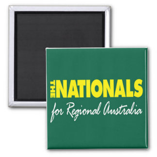 The National: For Regional Australia 2013 Refrigerator Magnets
