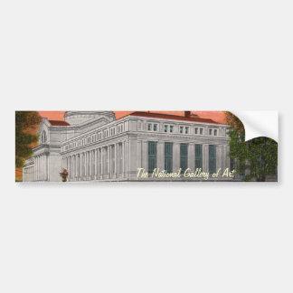 The National Gallery of Art Bumper Sticker Car Bumper Sticker