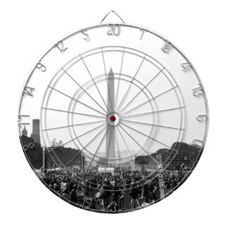 The National Mall at Justice or Else Dartboard